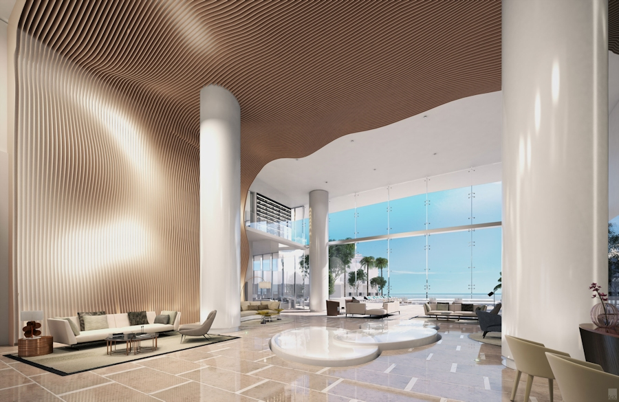 Turnberry Ocean Club Lobby